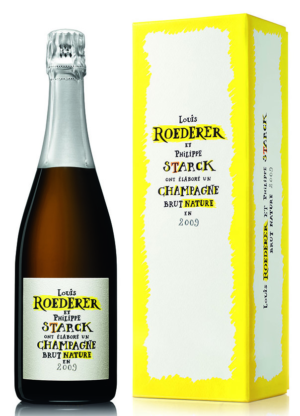 Louis Roederer Brut Nature 2009 by Philippe Starck